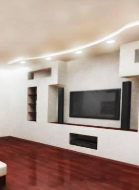 Дизайн квартир в Тюмени:устройство ниш из гипсокартона