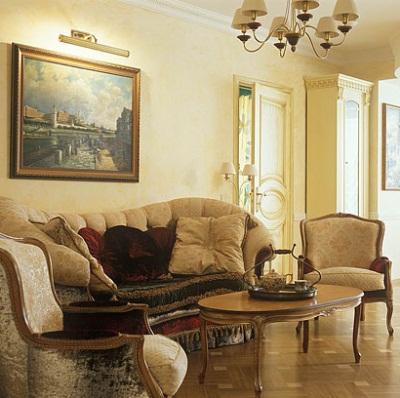 Декоративная отделка квартир в Тюмени: классический стиль
