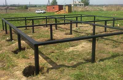Фундамент на винтовых сваях и пчеловодство