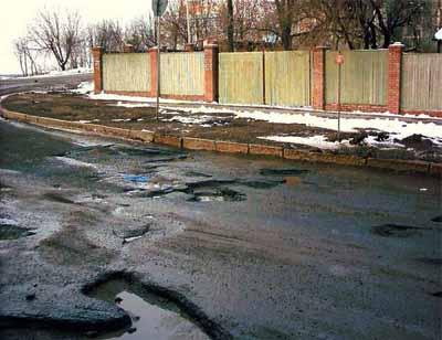 Путин недоволен качеством дорог